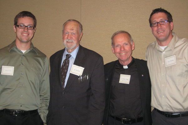ACP Co-Founders, Andrew St.Hilaire (Left) and Tom Herring (Right) with Joe Scheidler and Fr. Denis Wilde